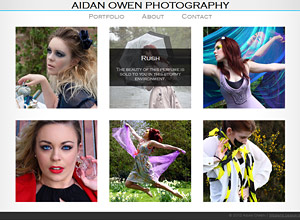 Aidan Owen Photography Screenshot