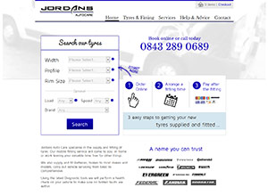 Jordans Autocare Screenshot