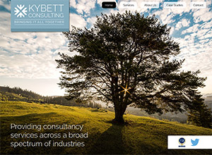Kybett Consulting Screenshot