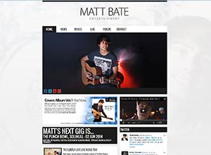 Matt Bate Entertainment Screenshot