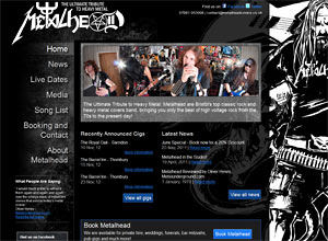Metalhead Covers Screenshot