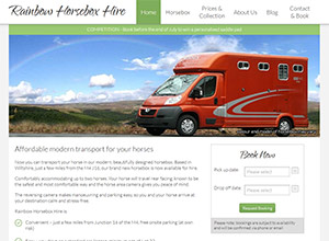 Rainbow Horsebox Hire Screenshot
