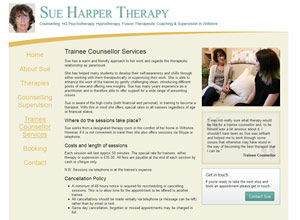 Sue Harper Therapy Screenshot