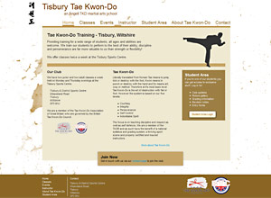 Tisbury Tae Kwon-Do Screenshot