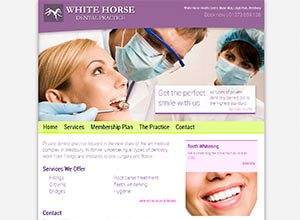 White Horse Dental Practice Screenshot